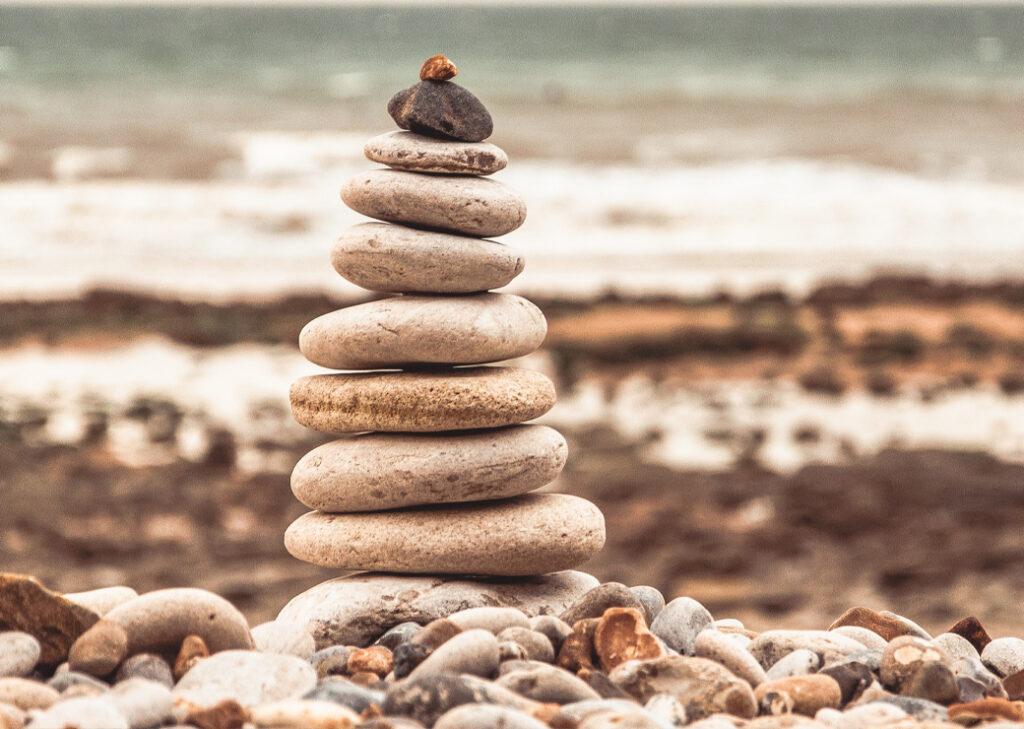 Galets en équilibre