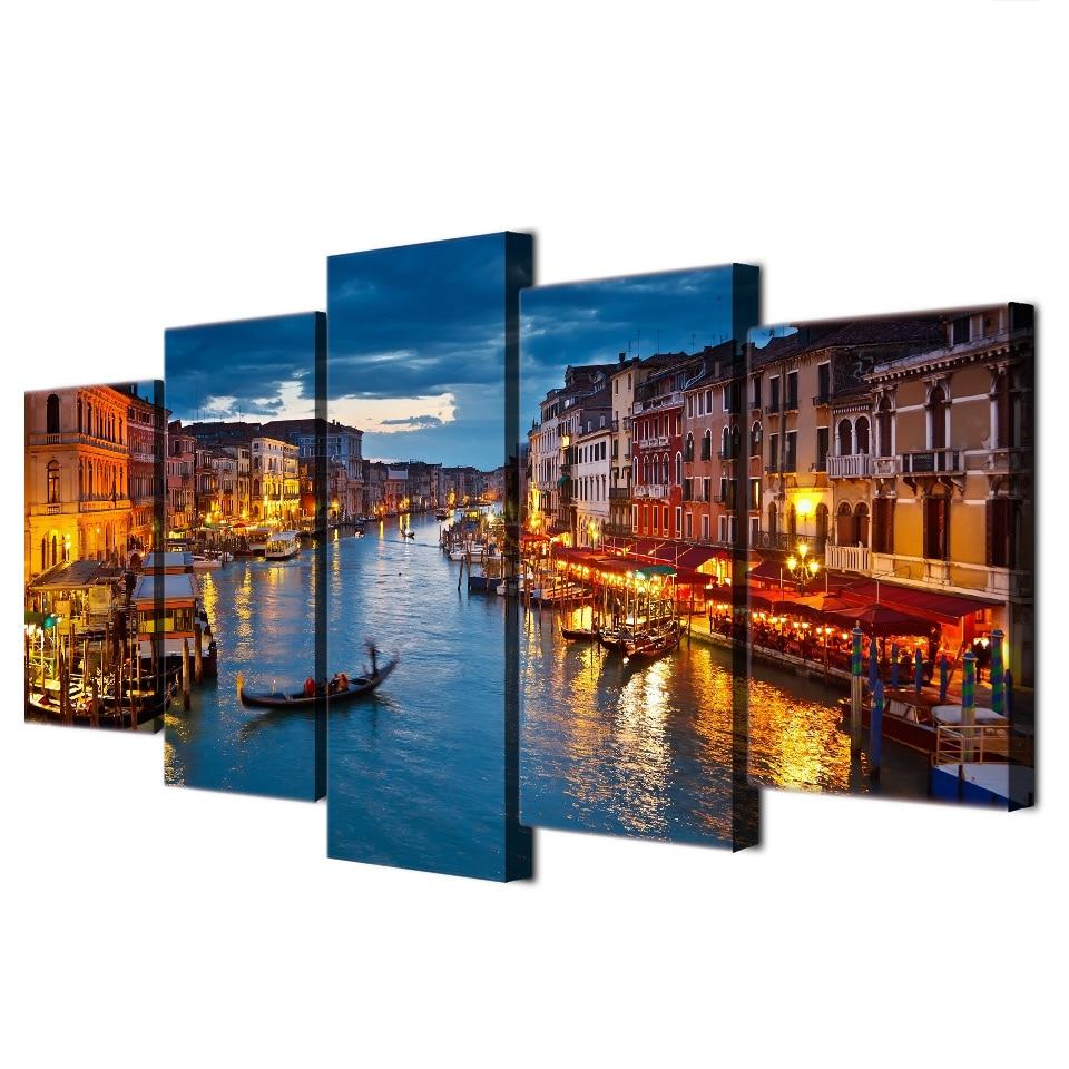 Tableau Canal de Venise Tableau Autres Villes Tableau Ville