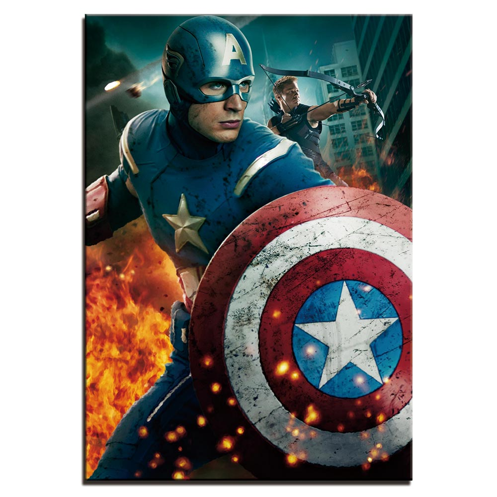 Tableau Captain America