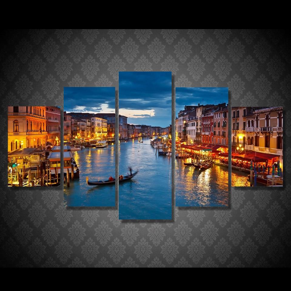 Tableau Canal de Venise