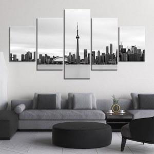 Tableau Toronto noir et blanc