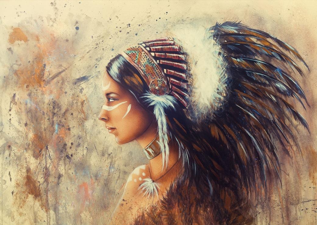 Tableau Amérindien