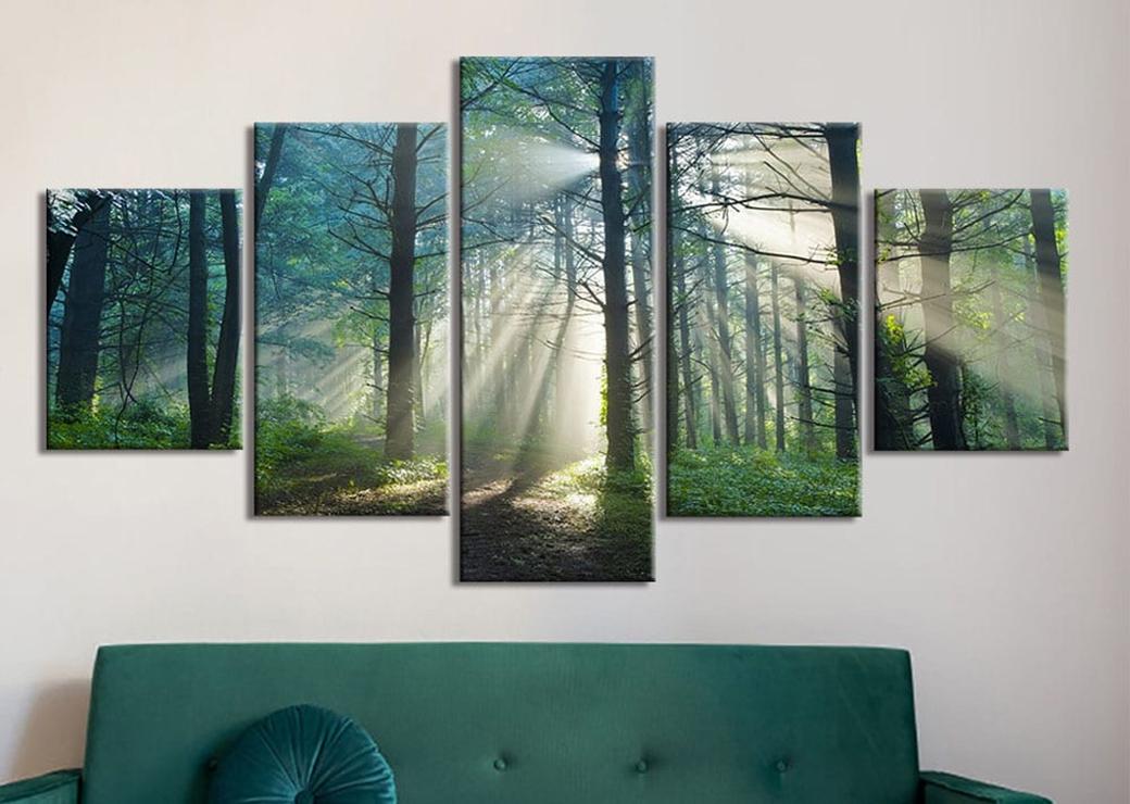 Tableau forêt
