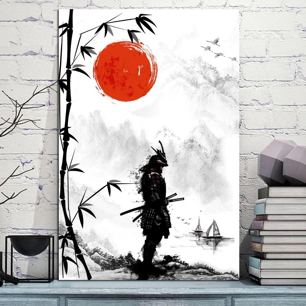 Tableau Samurai Bushido