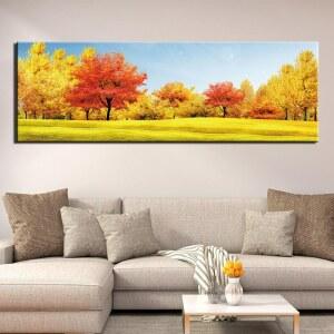 Tableau arbres d'automne