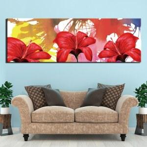 Tableau fleurs d'hibiscus