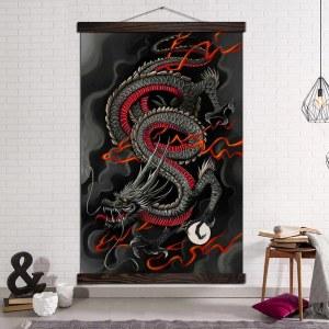 Tableau japonais esprit du dragon
