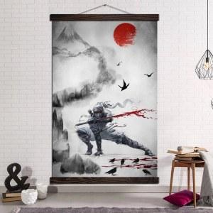 Tableau ninja japonais