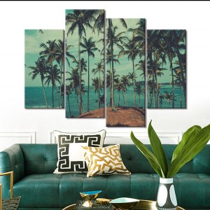 Tableau palmiers