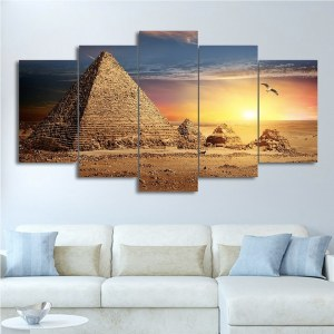 Tableau pyramides égyptienne