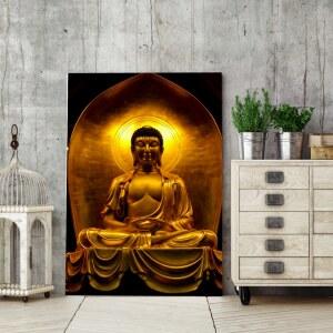 Tableau temple Bouddha