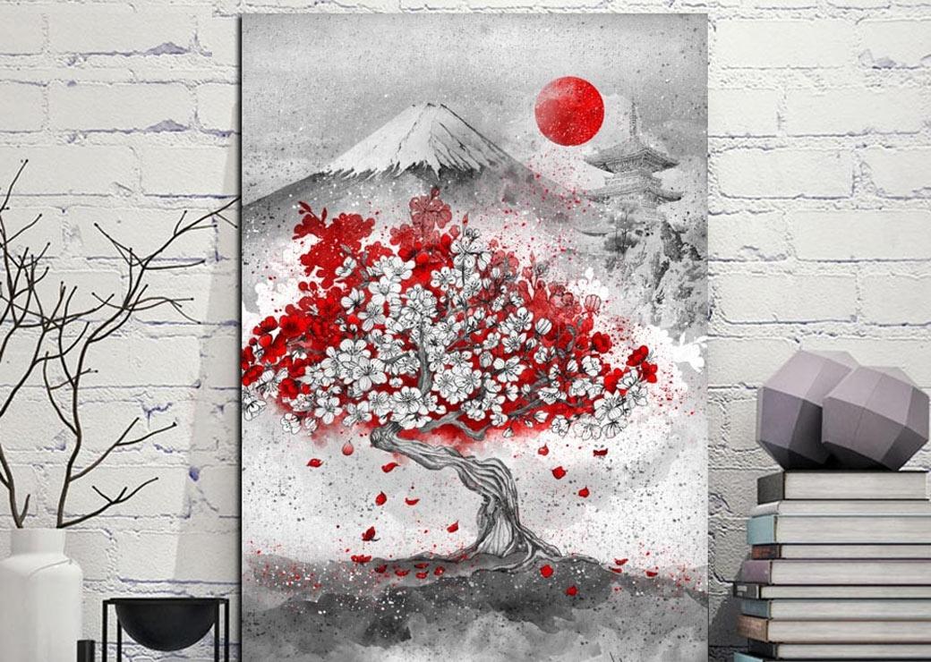 Tableau Cerisier Japonais