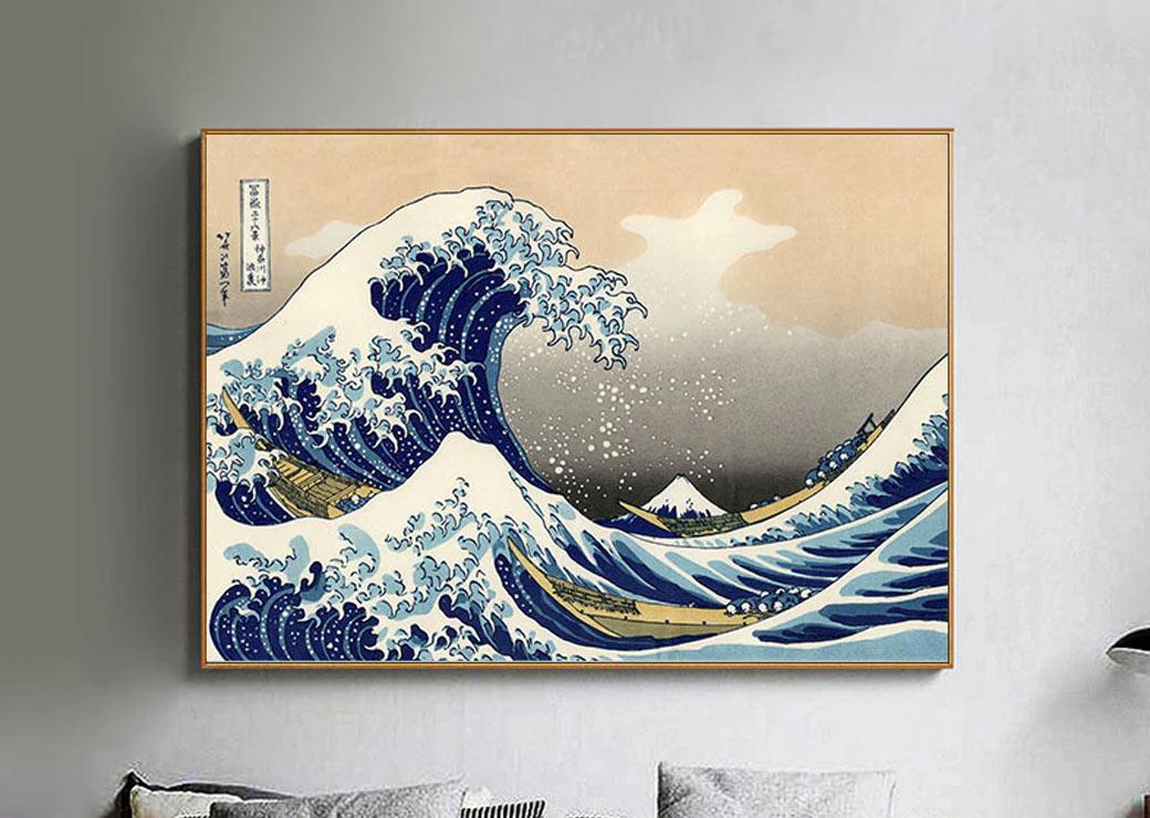 Tableau vague de Kanagawa