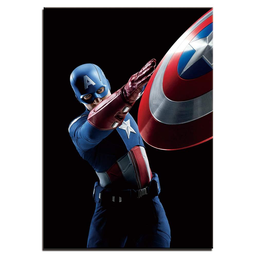 Tableau Avengers, Captain América