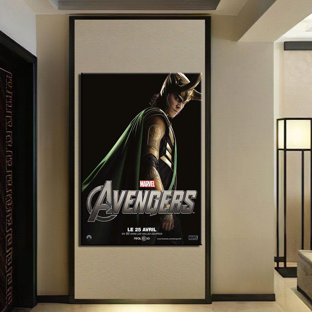 Tableau Avengers, Loki