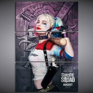 Tableau Harley Quinn, affiche film suicide squad