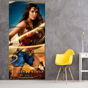Tableau affiche du film Wonderwoman