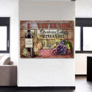 Tableau degustation de vin