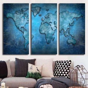 Tableau planète bleue