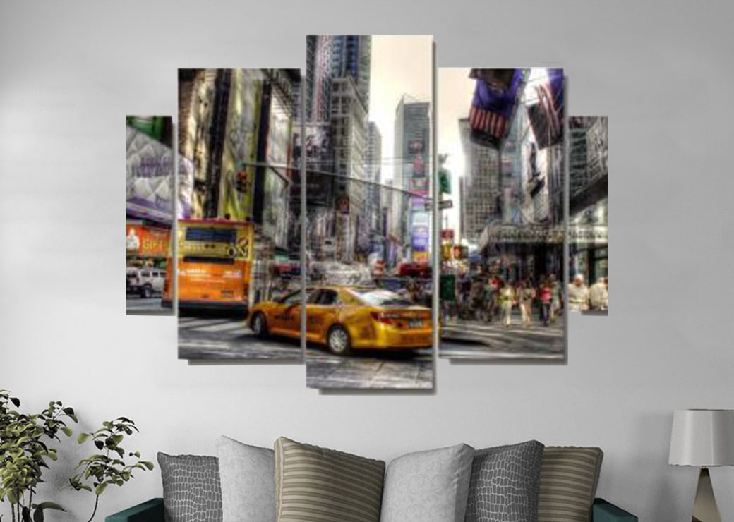 Tableau rue de New York