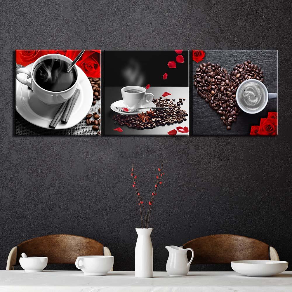 Tableau un amour de café