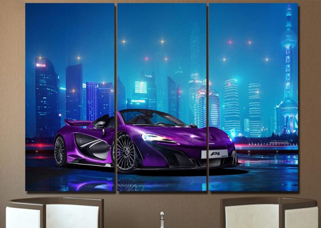 Tableau-voiture-de-course-violette2