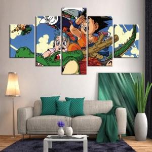 tableau Kid Goku
