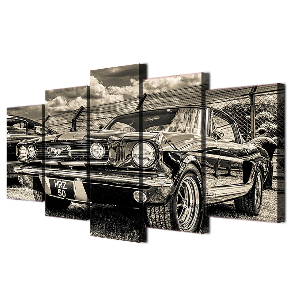 Tableau Ford Mustang