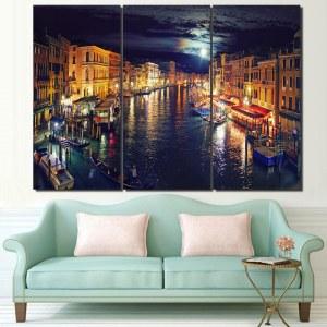 Tableau Venise la nuit
