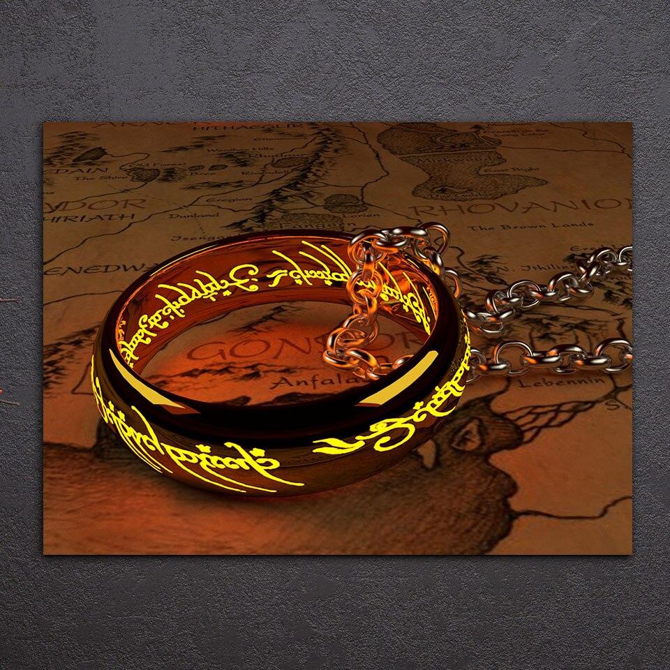 Tableau anneau des seigneurs des anneaux
