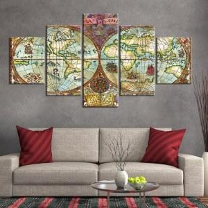 Tableau carte du monde navigateur