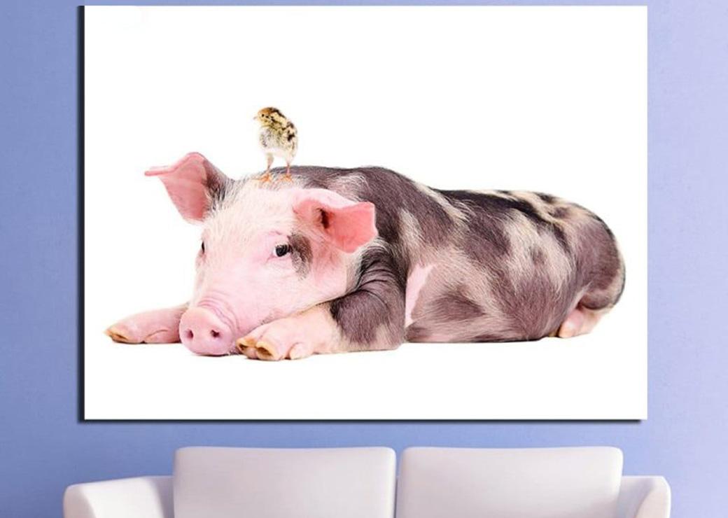 Tableau-cochon-et-poussin2