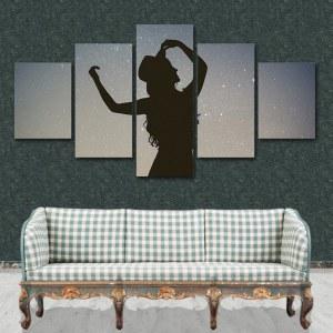 Tableau danse sous les étoile