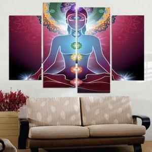 Tableau méditation chakras