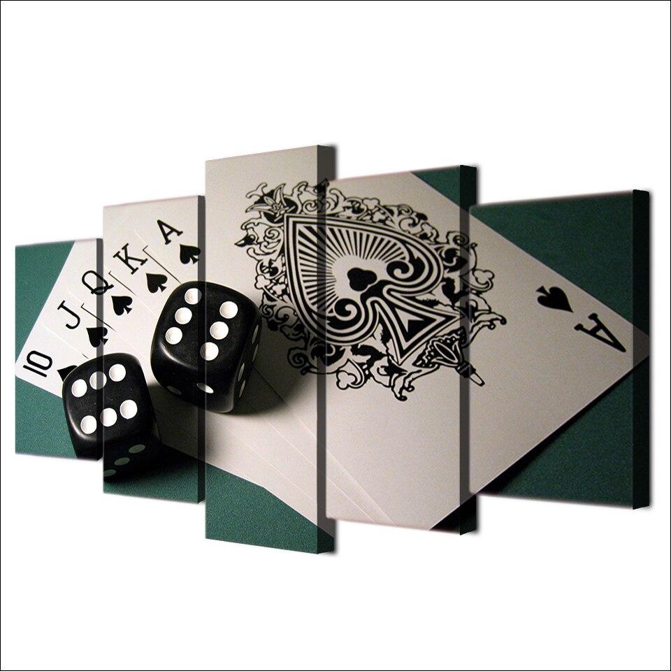 Tableau poker d'As