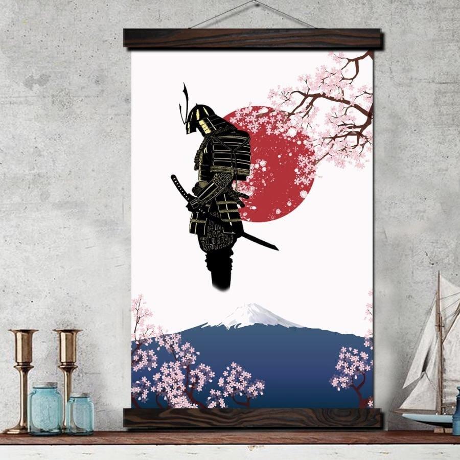 Tableau samouraï Japonais