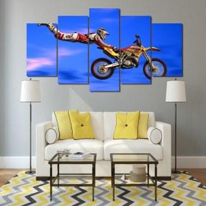 Tableau saut en motocross
