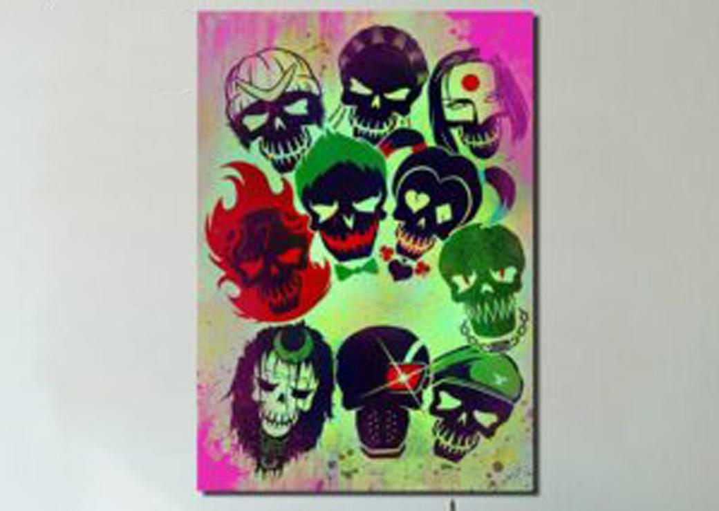Tableau symboles suicide squad