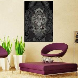 Tableau éléphant dieu hindou Ganesh Tableau Animaux Tableau Éléphant