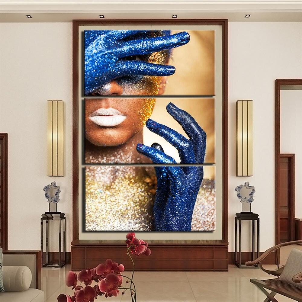 Moderne chinois opéra de pékin affiche impression toile peinture photos mur Art décor à la maison mur Art Uncategorized