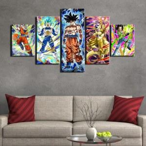 Tableau Dragon Ball