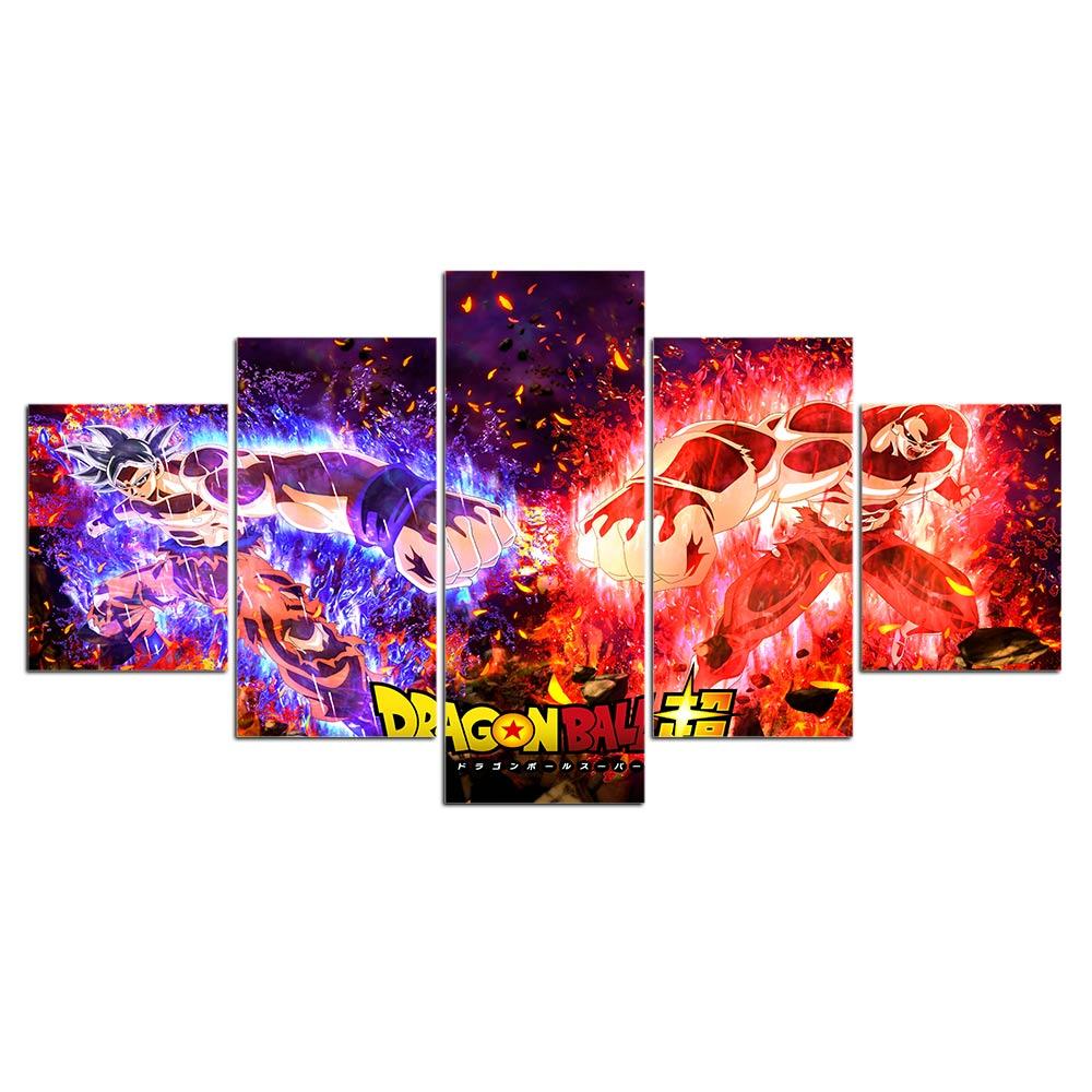 Tableau combat Dragon Ball Super