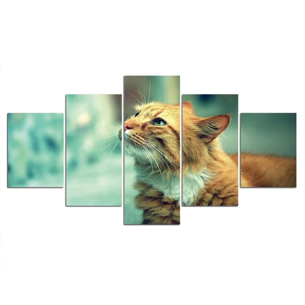Tableau chat tigré