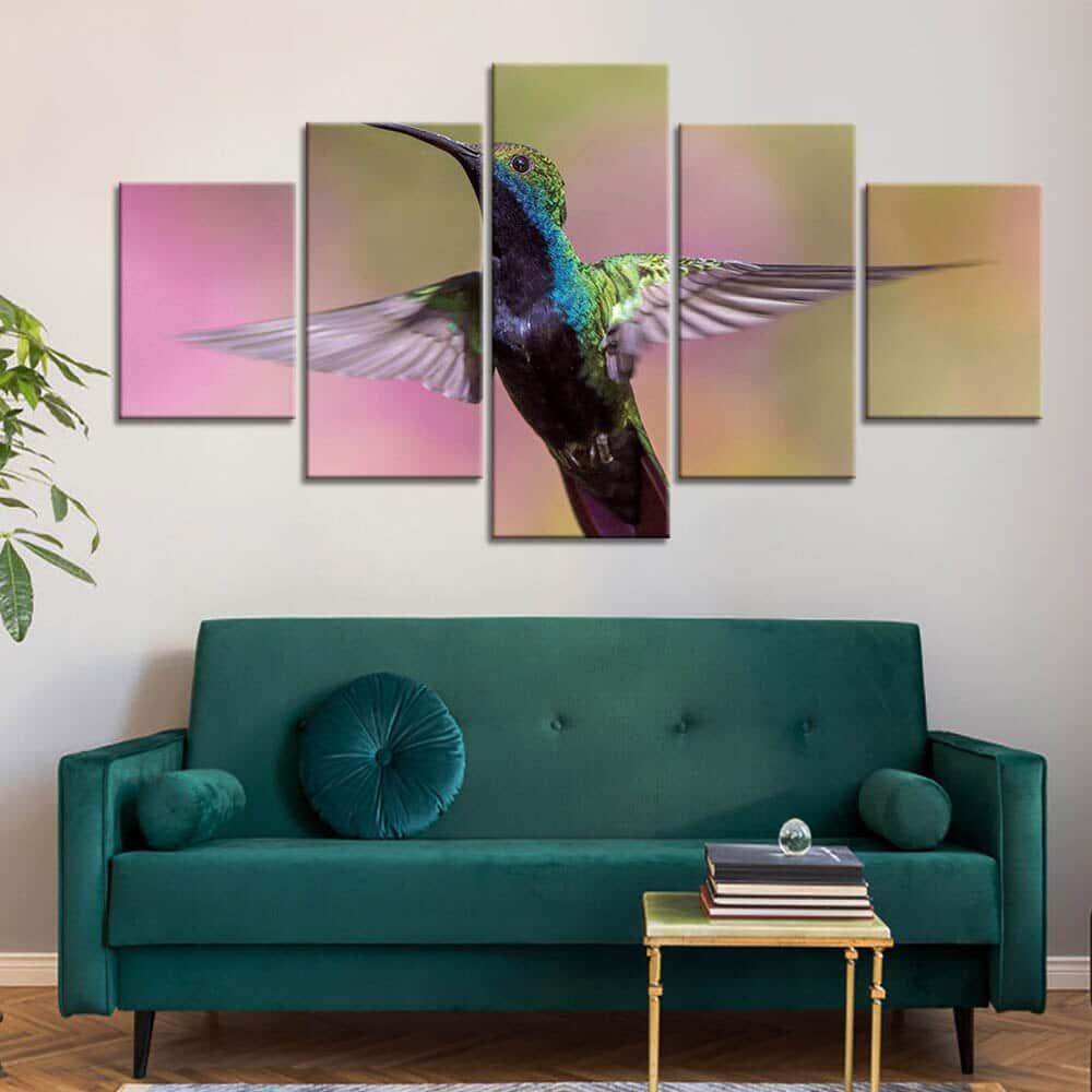 Tableau colibri
