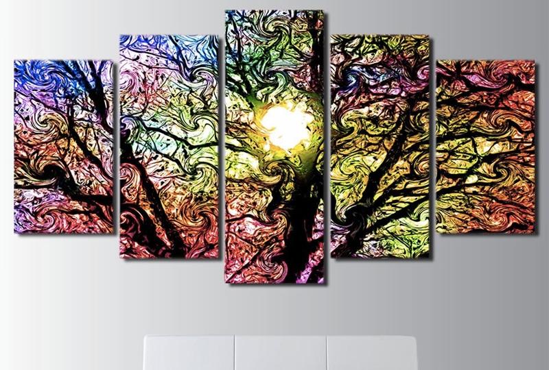 Tableau pop'arbre Tableau Arbre Tableau Nature