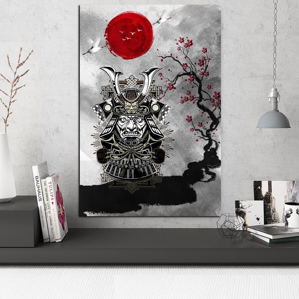Tableau armure de samouraï Tableau Japonais Tableau Monde