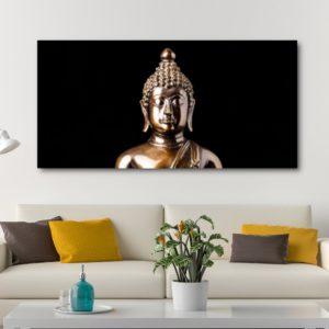 Tableau Bouddha de cuivre