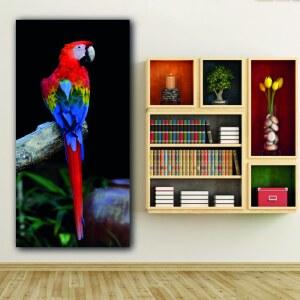 Tableau Ara rouge Tableau Animaux Tableau Oiseau